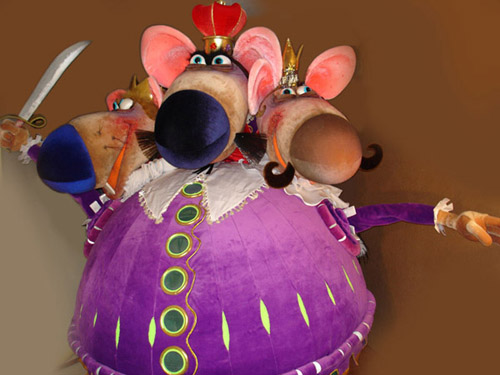 Поделка мышиного короля своими руками